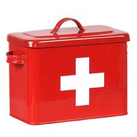 LABEL51 Erste-Hilfe-Kasten 30x14x21 cm Rot
