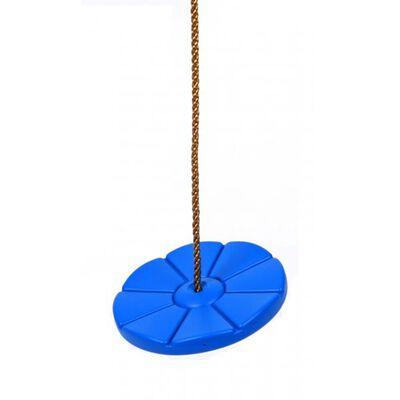 Swing King Schaukelscheibe aus Kunststoff D28 cm blau 2521063, Blau