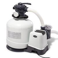 Intex Krystal Clear Sandfilterpumpe 26652GS 12 m³/h