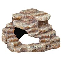 TRIXIE Eck-Fels mit Höhle und Plattform Polyesterharz 27x21x27cm 76208