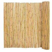 vidaXL Gartenzaun Bambus 300 x 150 cm
