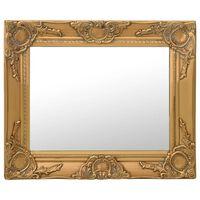 vidaXL Wandspiegel im Barock-Stil 50 x 40 cm Golden