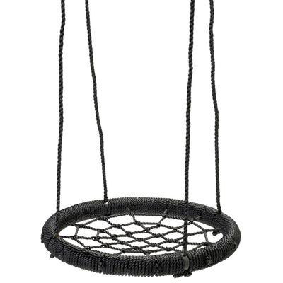 Swing King Schaukelnetz Schwarz 60 cm 2521055