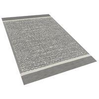 Outdoor Teppich grau meliert 120 x 180 cm BALLARI