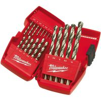 Milwaukee 4932352374 19-teiliger Metallbohrer in Kassette