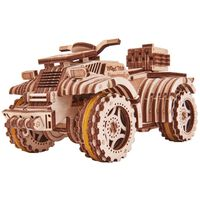 Wood Trick Modellbausatz Holz Quad-Bike