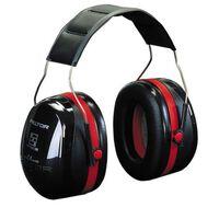 3M Gehörschutz Peltor Optime III Kunststoff schwarz und rot 34727