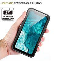 Iphone 11 Pro Max Staubdichte Wasserdichte Handyschale - Schwarz/grau