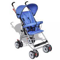 Kinderwagen Buggy Sportwagen Babywagen Babyjogger Reisebuggy Blau