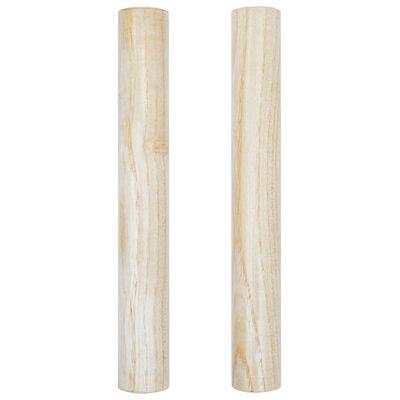 vidaXL 3-tlg. Schlagzeug-Set Holz