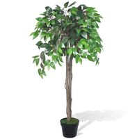 Künstlicher Ficus mit Topf 110 cm