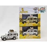 Kids Globe Auto Landrover Defender Safari Assorted
