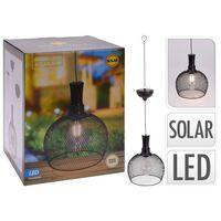 ProGarden LED Garten-Pendelleuchte Solar Metall 18,5 cm