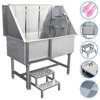 Haustiere Badewanne Bathtube Hundebadewanne Dusche 600mm Edelstahl