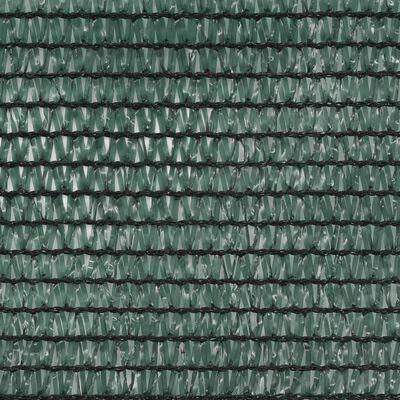 vidaXL Tennisblende HDPE 1,8x100 m Grün, Green