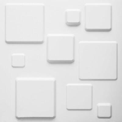 WallArt 3D-Wandpaneele 24 Stk. GA-WA09 Squares