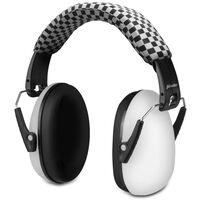 Alecto Gehörschutz für Babys und Kleinkinder BV-71WT Weiß und Schwarz