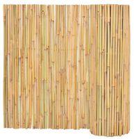 vidaXL Gartenzaun Bambus 300 x 100 cm
