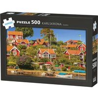 Puzzle Karlskrona 500 Bit