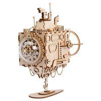 Robotime Spieluhr Modellbausatz Steampunk Submarine