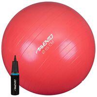Avento Fitness-/Gymnastikball + Pumpe Durchm. 65 cm Rosa