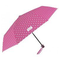 regenschirm Cool Kidsfaltbar 91/52 cm Mädchen rosa/weiß