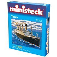 Ministeck - Titanic – 7500st - Mosaiksteine