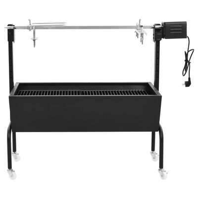 vidaXL Elektrische BBQ-Rotisserie Edelstahl