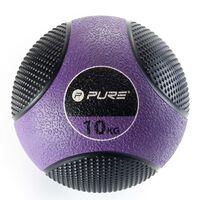 Pure2Improve Medizinball 10 kg Lila