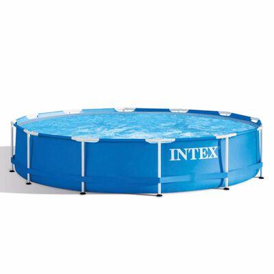 Intex Schwimmbecken Metal Frame 366 x 76 cm 28210NP