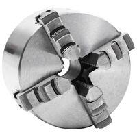 vidaXL 4-Backen-Drehfutter Selbstzentrierend 100 mm Stahl
