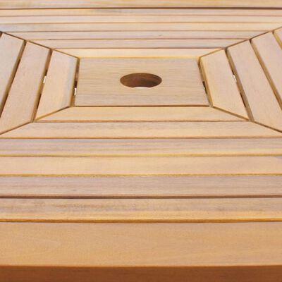 vidaXL Bistrotisch 75x75x110 cm Akazie Massivholz