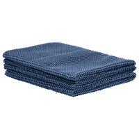 vidaXL Zeltteppich 250x550 cm Blau