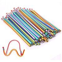 30er Weiche Flexible Bendy Bleistifte | Kinder Schule Spaß
