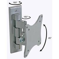 Perel Regelbarer Arm für Flachbildschirm 25 - 38 cm Silbern CWB008