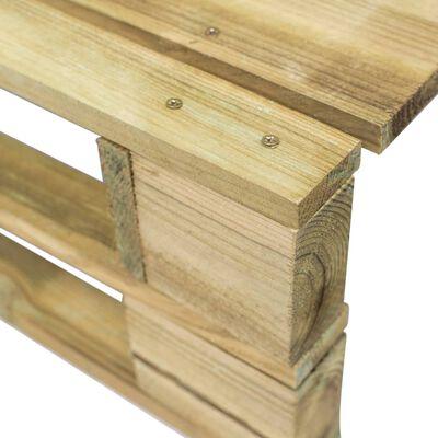 vidaXL Garten-Palettenhocker Holz