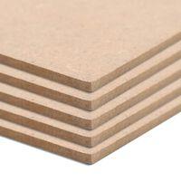 vidaXL MDF-Platten 20 Stück Quadratisch 60x60 cm 2,5 mm