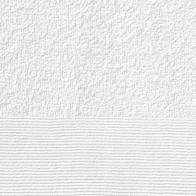 vidaXL Badetücher 10 Stk. Baumwolle 350 g/m² 100 x 150 cm Weiß