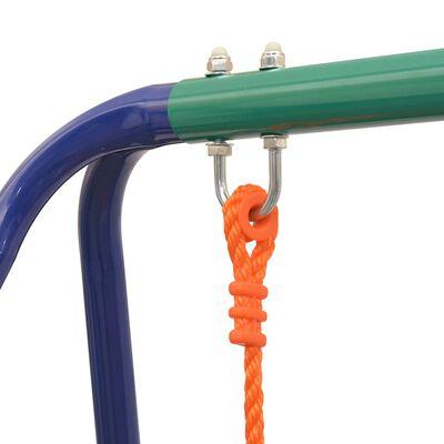 vidaXL Einzelschaukel Orange,