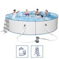 Bestway Hydrium Pro Schwimmbad Set Stahlrahmen 460x90 cm 56386