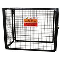 Gasflaschen Depot Aufbewahrung Käfig zur Gasflaschenlagerung 90cm H