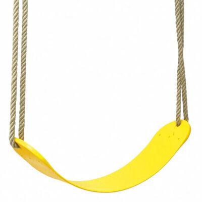 Swing King Kunststoff-Schaukelsitz Flex gelb 2521032,