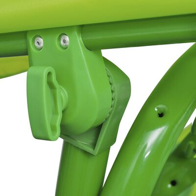 vidaXL Kinder-Hollywoodschaukel Grün, Grün