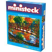 Ministeck - Herbst Brücke – 11000st - Mosaiksteine