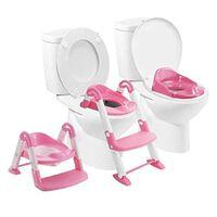 BABYLOO 3-in-1 Toilettentrainer-Sitz Rosa